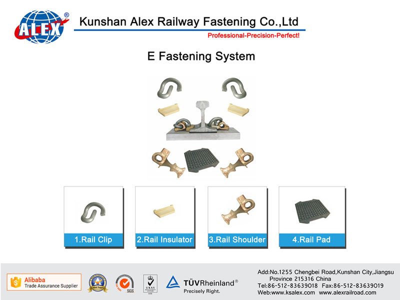 E Type Railway Fastening System