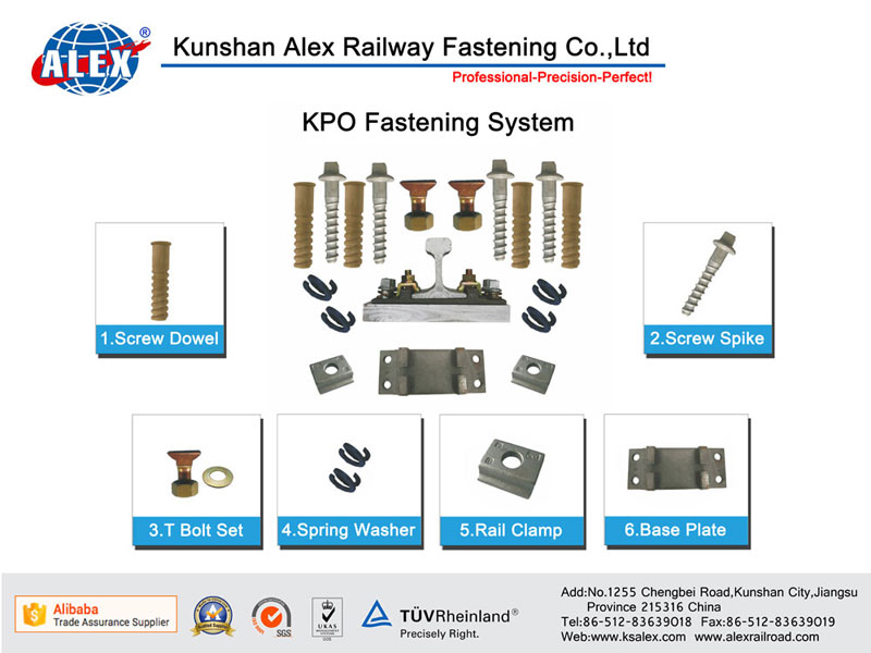Rail Clamp Fastening System