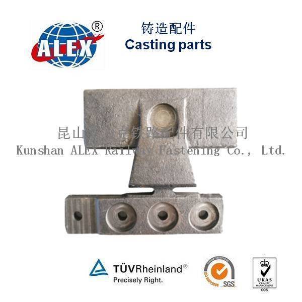 Casting  parts for railway